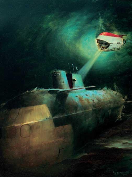 лег бы на дно как подводная лодка