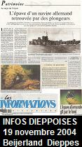 Les informations dieppoises, November 19, 2004