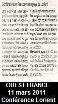 Ouest France, 11 mars 2011