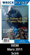 Wreck Diving Magazine, March 2011