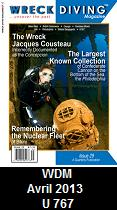 Wreck Diving Magazine, April 2013