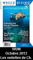 Wreck Diving Magazine, October 2013