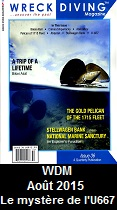 Wreck Diving Magazine, August 2015
